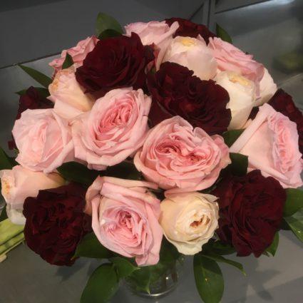 Букет 21 роз Cадовая Кения