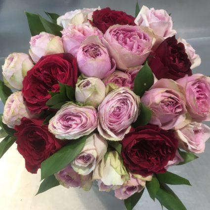 Букет 15 роз Cадовая Колумбия