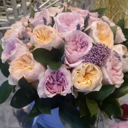 Букет 21 роз Cадовая Колумбия