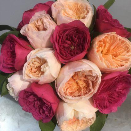 Букет 11 роз Cадовая Кения
