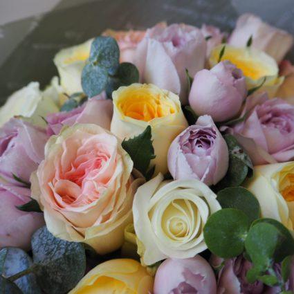 Букет 15 роз Эквадор