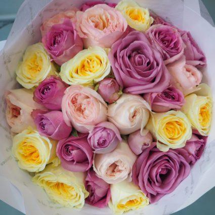 Букет 31 роз Эквадор